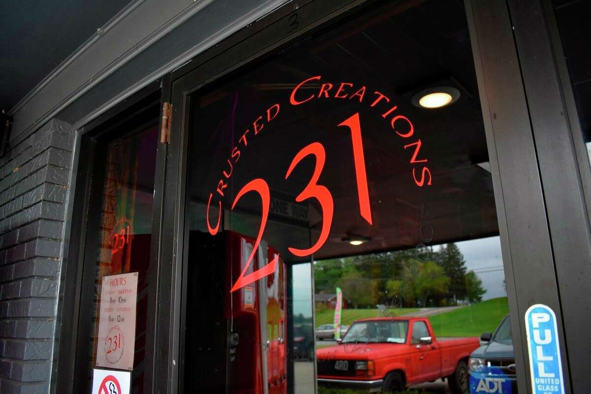Crusted Creations 231 is located at 13472 Northland Drive in Big Rapids. An opening date is yet to be announced. (Pioneer photo/Olivia Fellows)