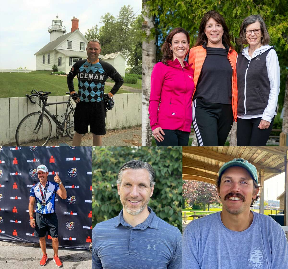 Area residents will compete in the Ironman 70.3 competition in Frankfort on Sept. 12 to raise money for five local nonprofits.