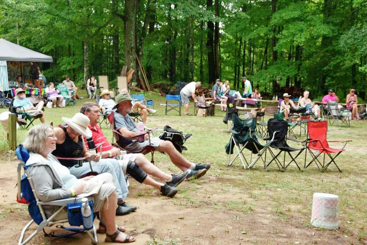 The second annual Forest Trail Music Festival in Free Soil started out as a family endeavor last year built from the ground up, and it continues to be spearheaded by the Cameron family during the second annual series of live folk, bluegrass, Americana roots music performances and events. (Arielle Breen/News Advocate)