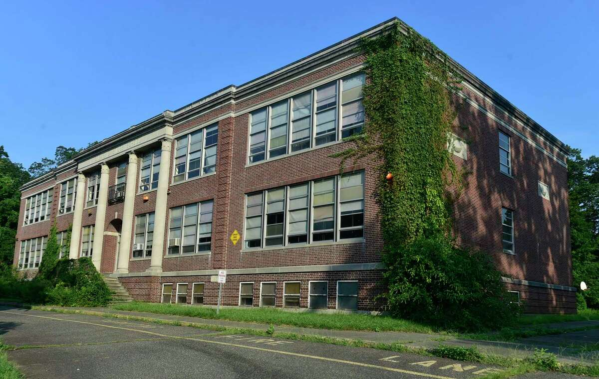 Former Stiles School at 575 Main St., West Haven, Aug. 27, 2021.