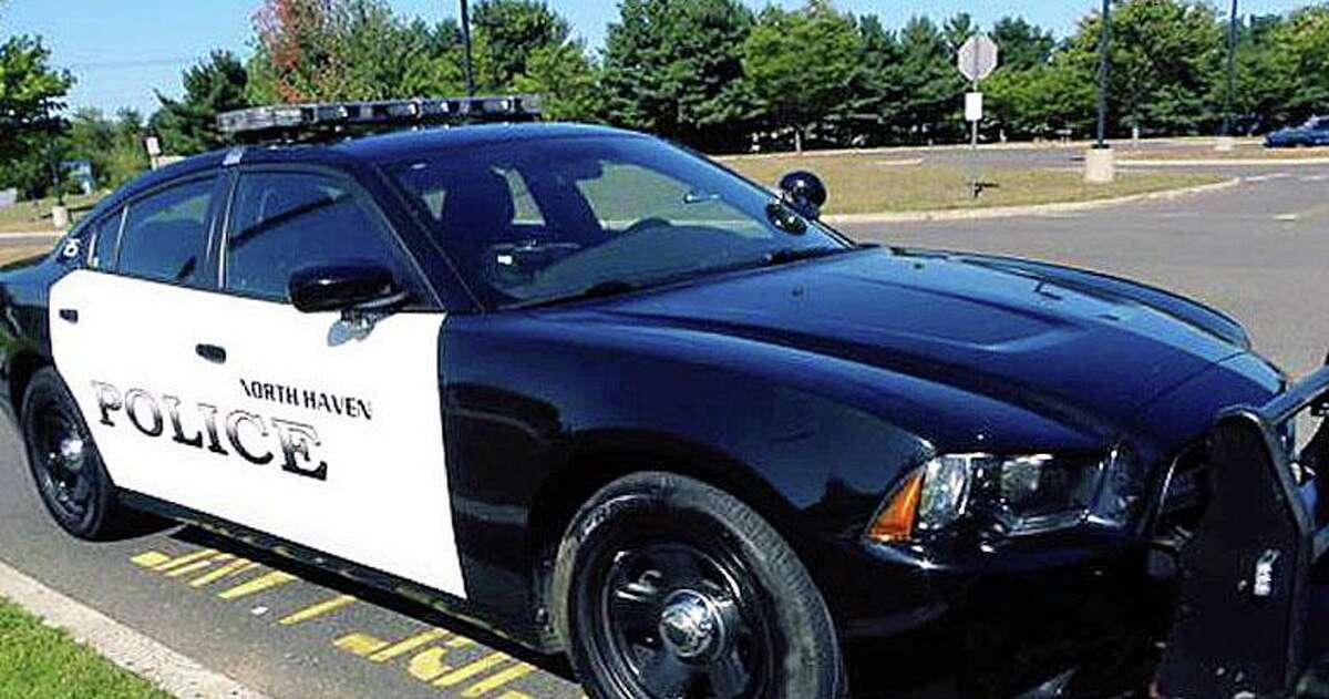 A file photo of a North Haven, Conn., police cruiser.