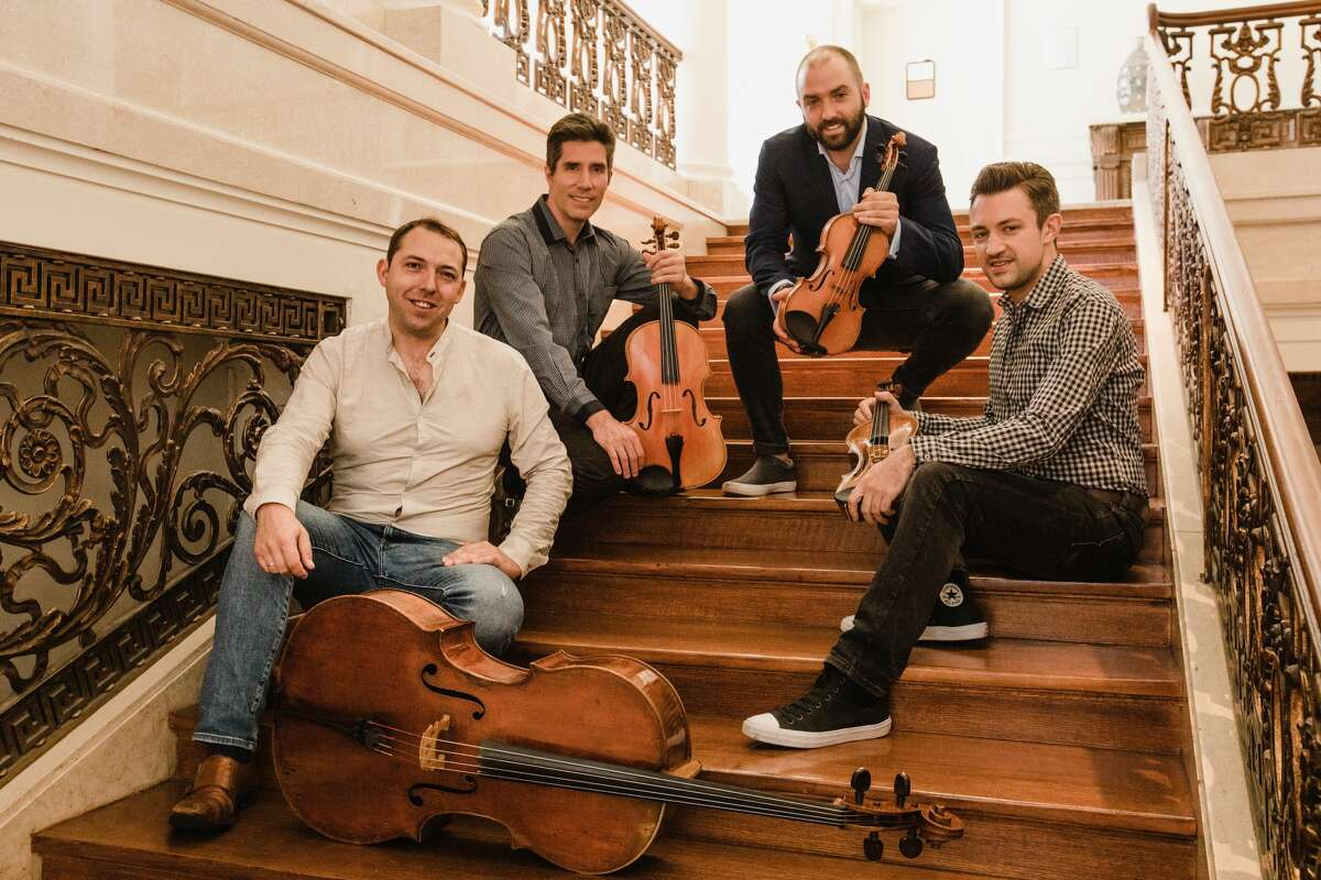 After72 years of performing in Kiggins Hall at Emma Willard School in Troy, Friends of Chamber Music will open its season at a new home, Page Hall on the University at Albany's downtown campus, with a concert by Escher String Quartet on Sept. 12, 2021.