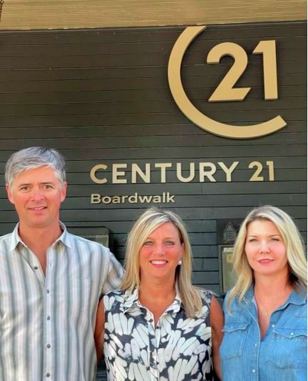 Pictured are Brad Platt, broker/owner and co-founder ofCentury 21 Northland; Suzanne Riley,broker/owner andformer founder ofCentury21 Boardwalk; and Meagan Luce, associate broker and mentor/coach atCentury21 Northland.Century21 Northland isexpanding to 14 office locations, joining forces with Century 21 Boardwalk.(Courtesy photo)