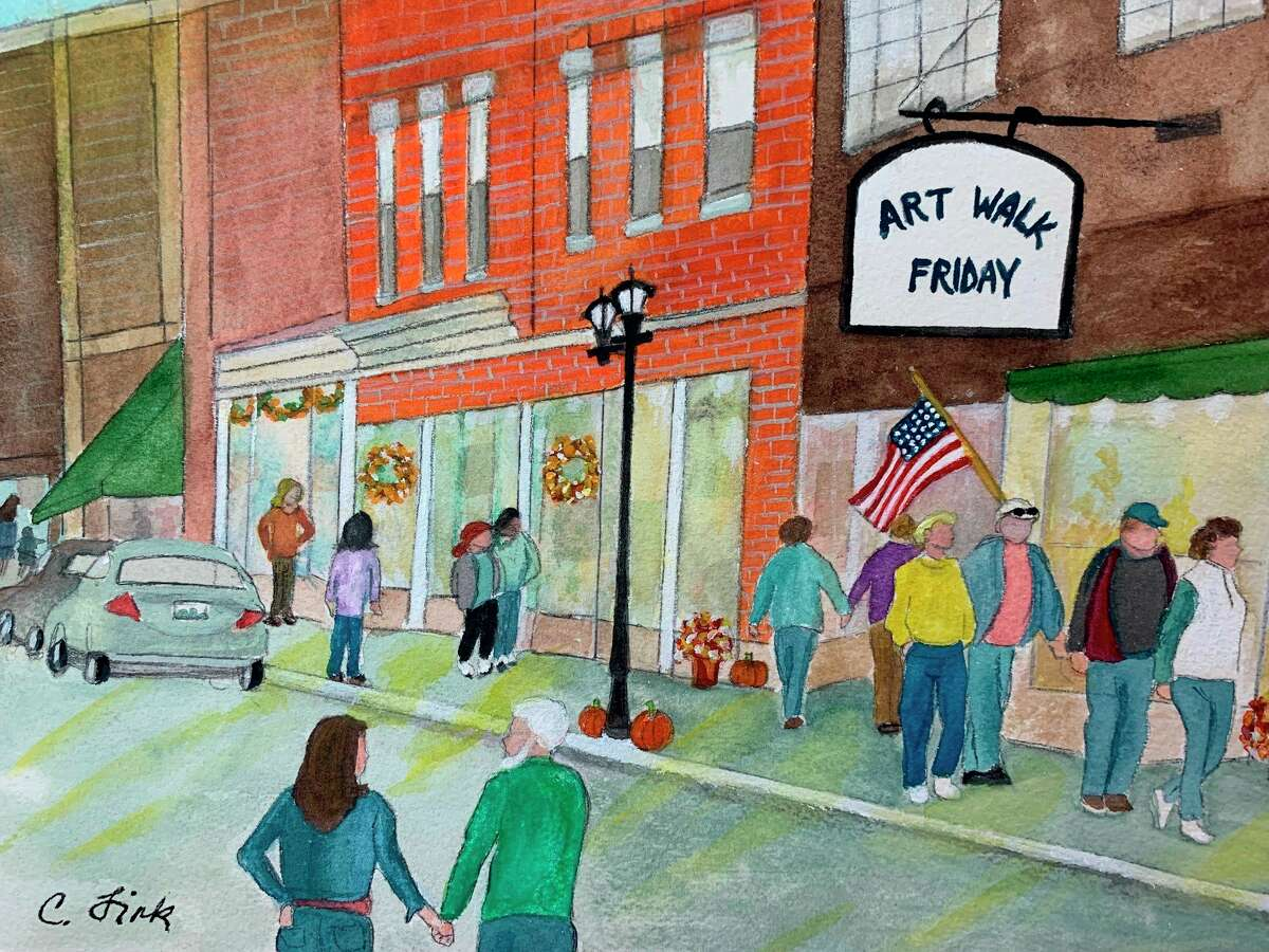 Works of art will be displayed 5-8 p.m. Friday, Sept. 24 in downtown Gladwin as part of the Gladwin Area Artist Guild's Art Walk. (Image provided)
