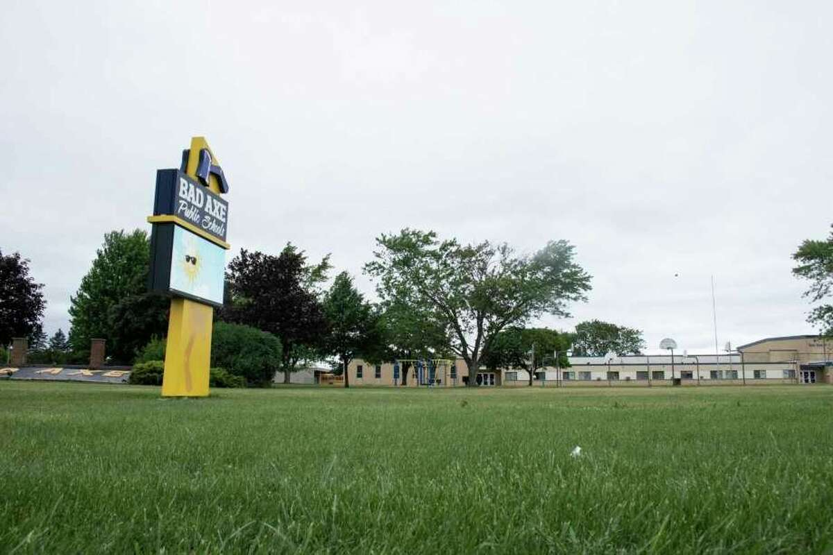 Bad Axe Schools, like other districts in Huron County, will continue to have online learning options, optional mask wearing, and cleaning in common areas to prevent COVID spread this coming school year. (Robert Creenan/Huron Daily Tribune)