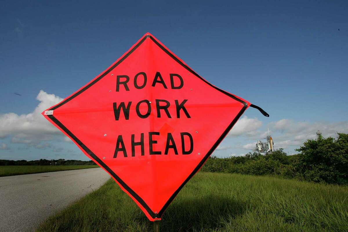 A Road Work Ahead sign ispictured (Getty Images)