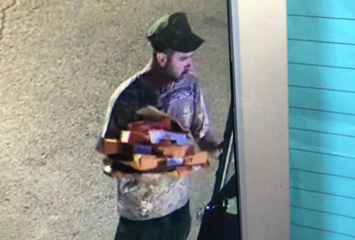 The Huron County Sheriff's Officehas identifieda suspect who broke into an outside cooler at a Verona Township gas station late Saturday night. The break-in occurred at a gas station/convenience store on M-53 in Verona Township around midnight on Saturday, according to a press release from the sheriff's department. (Huron County Sheriff's Office/Courtesy Photo)
