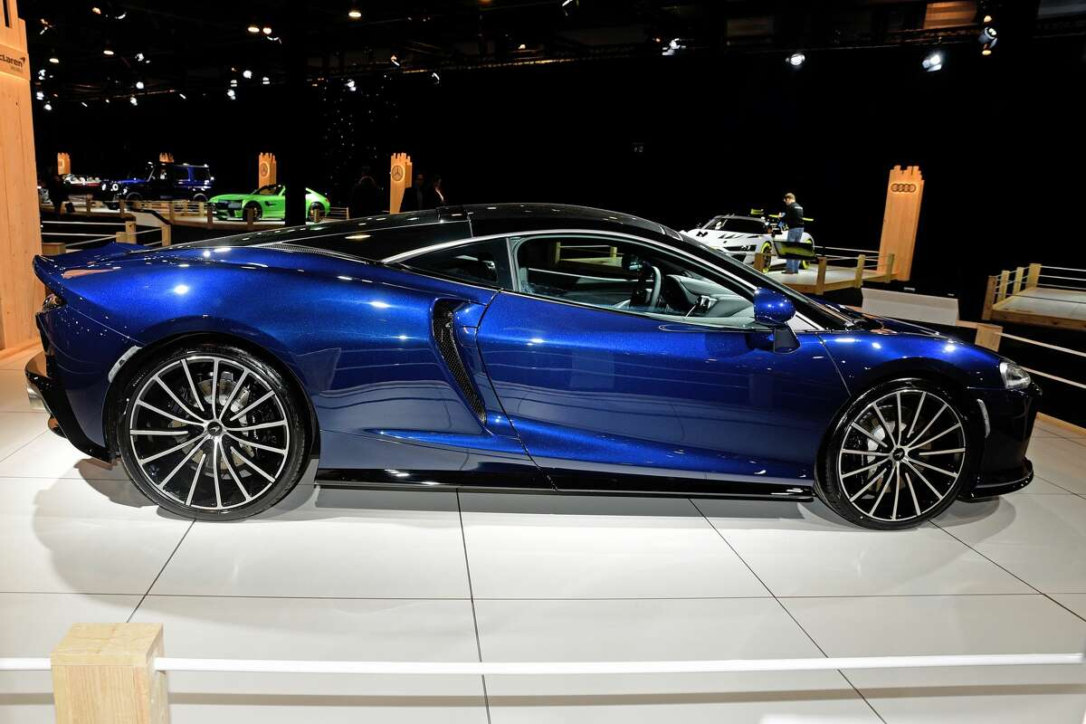 A McLaren GT, similar to this one shown, was stolen from a New Canaan garage when the garage door was left open.