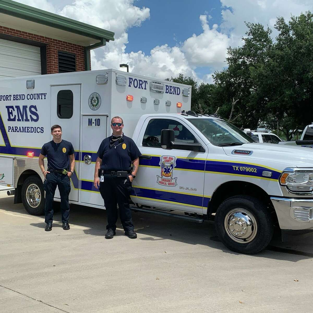 Fort Bend County EMS has received the American Heart Association's Mission: Lifeline EMS SILVER PLUS Achievement Award