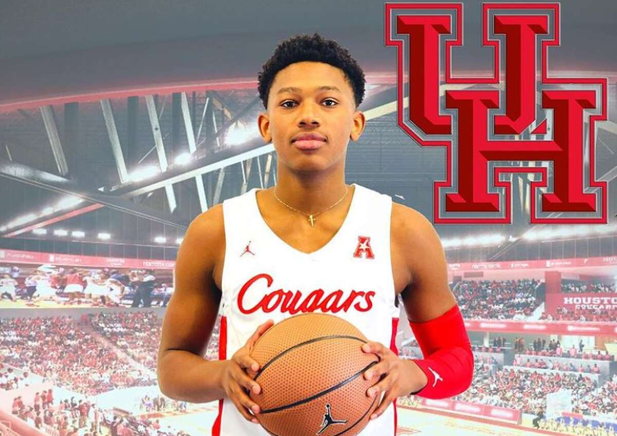 Mercy Miller, the son of rapper Master P, announced he was committed to the University of Houston with this photo on Instagram.