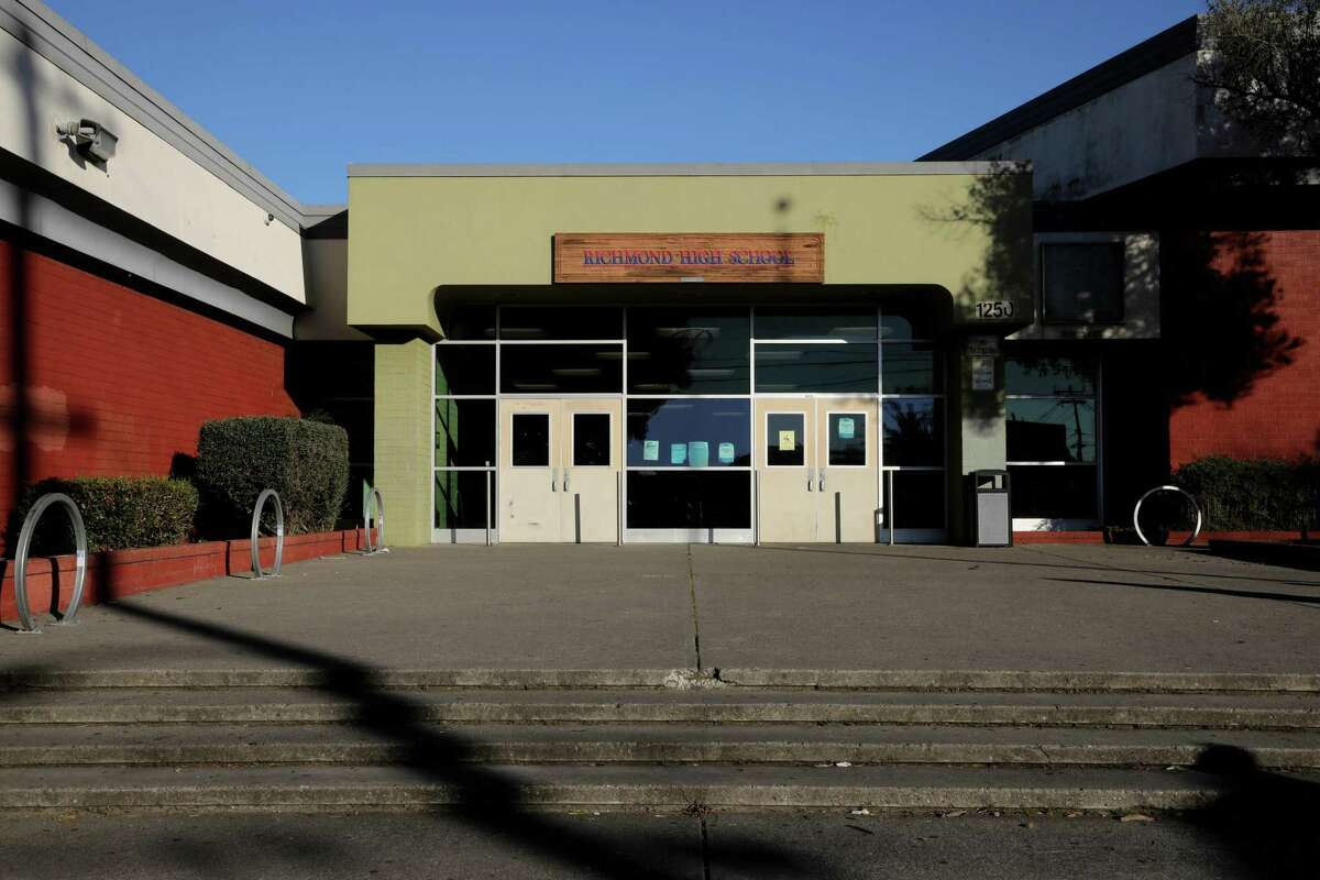 Richmond High School at 1250 23rd St. in Richmond would be subject to the vaccine mandate if the school district decides to move forward with it.