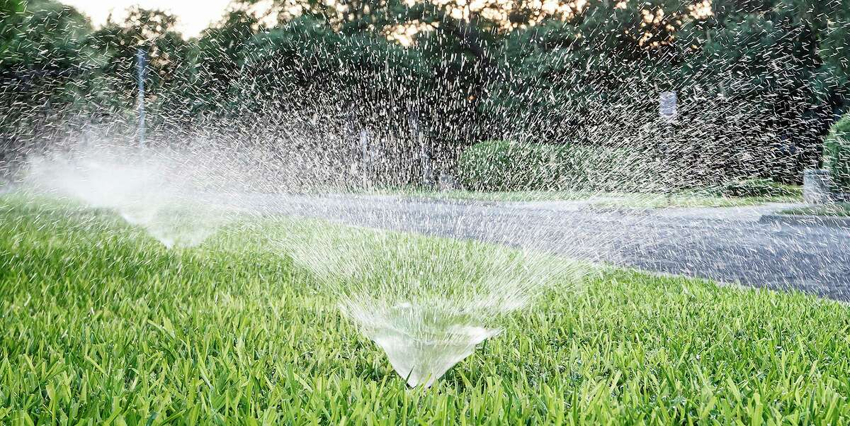 Watering lawns using sprinklers would be limited to one day per week if Stage 1 restrictions are implemented in San Antonio.