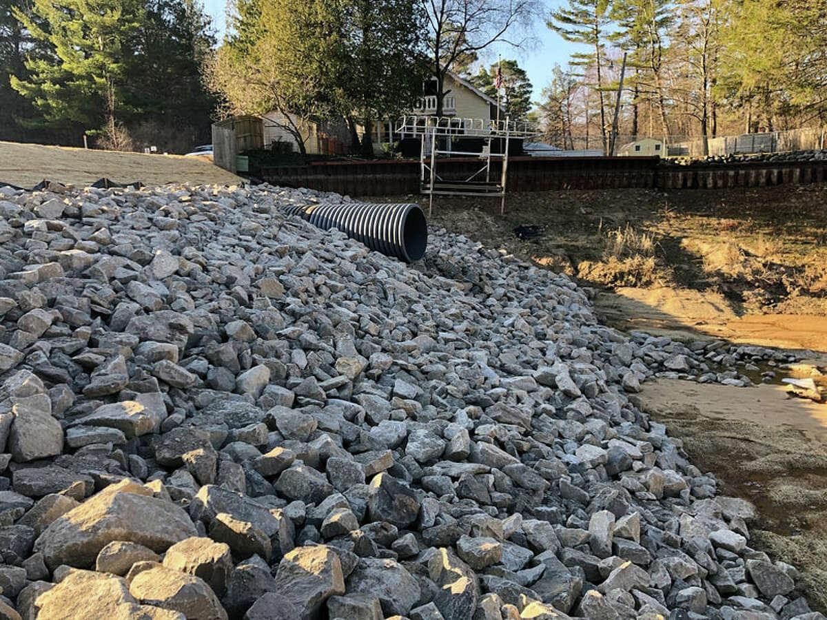 Recent erosion stabilization efforts captured on the Four Lakes Task Force website.