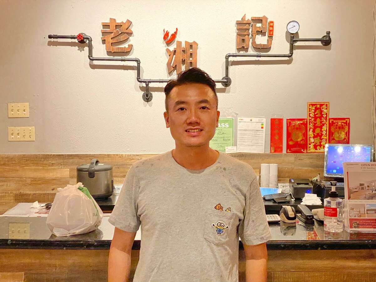 Kenny Zhang, owner of Spices Restaurant.