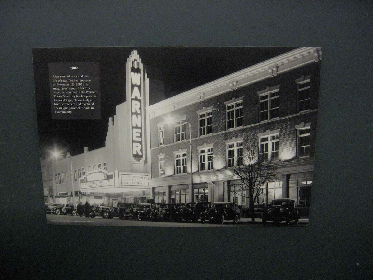 The Warner Theatre celebrated its 90th birthday Aug. 28. Pictured, a view of the theater from its archives.