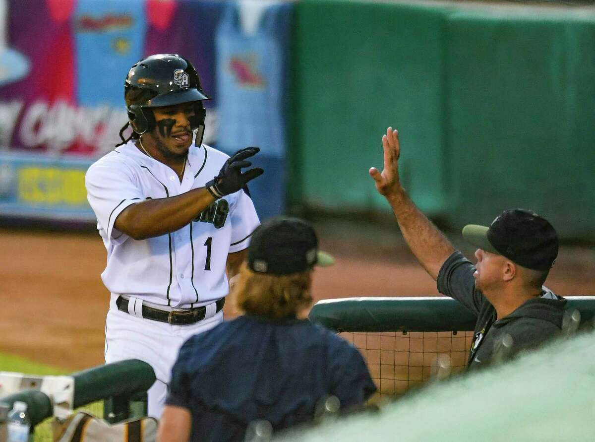 The Missions' Eguy Rosario, had another strong week, hitting .333 with three doubles vs. Amarillo.