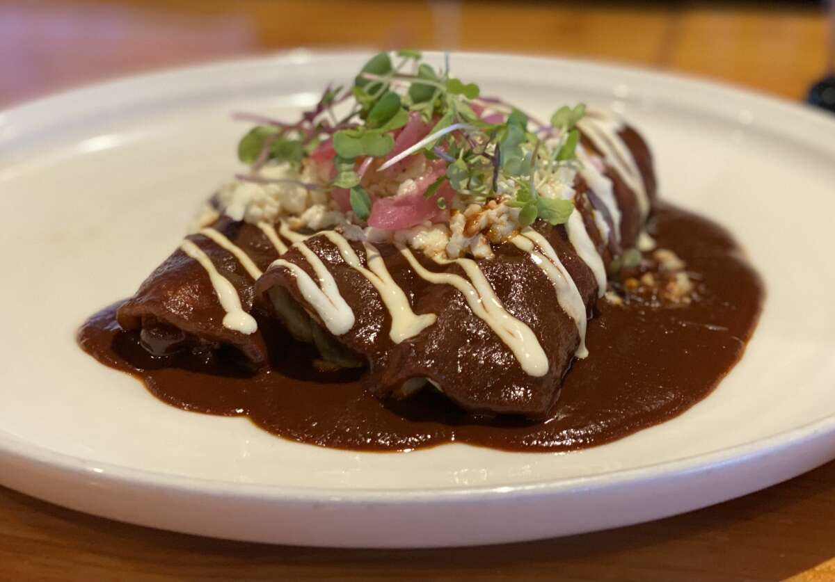La Charla's chef hails from Oaxaca and specialites from the region like mole fill the menu.