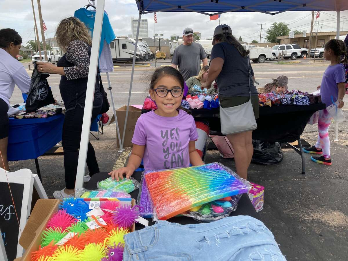 Midland College Business & Economic Development Center (BEDC) held the first Florida Avenue Market of the season on Saturday, Aug. 21, 2021.