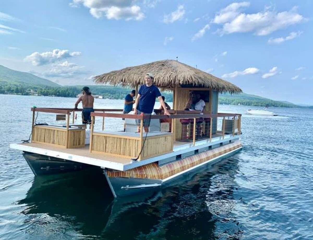 Lake George's Tiki Tours has added another pontoon-tiki boat to their fleet.