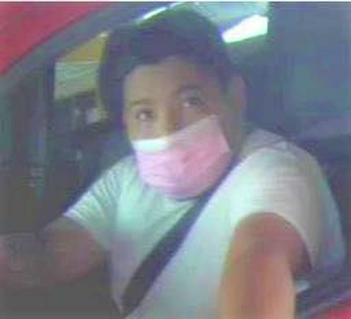 Laredo police said this man is linked to a theft of a vehicle case. To report his whereabouts, call police at 795-2800 or Laredo Crime Stoppers at 727-TIPS (8477).