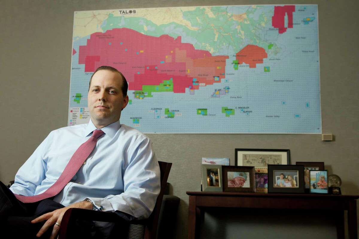 Timothy Duncan, president and Chief Executive Officer, poses for a photo at Talos Energy Thursday, Sept. 26, 2013, in Houston. ( Brett Coomer / Houston Chronicle )