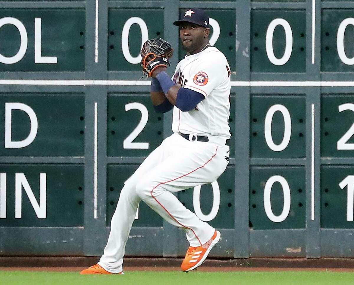 Since June 2, Yordan Alvarez has made 27 starts in left field for the Astros.