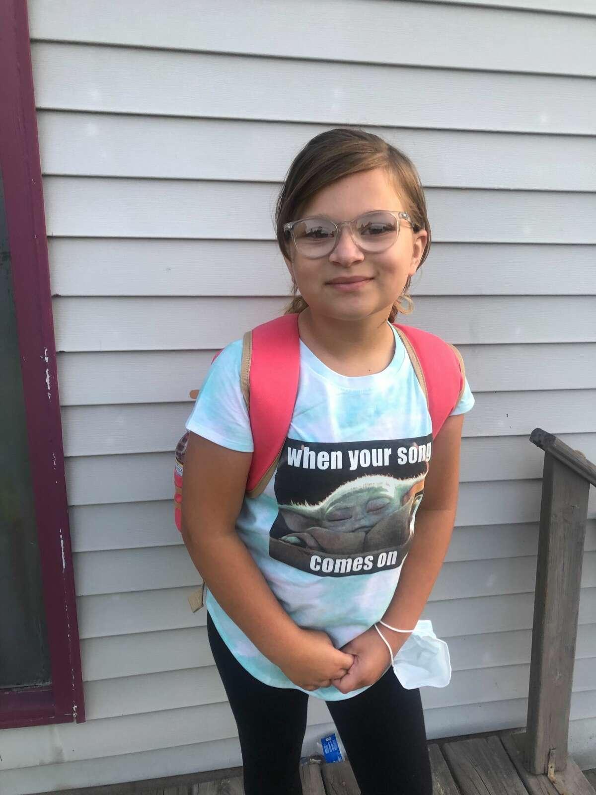 Leah Jackson, 7th grade at Bad Axe.