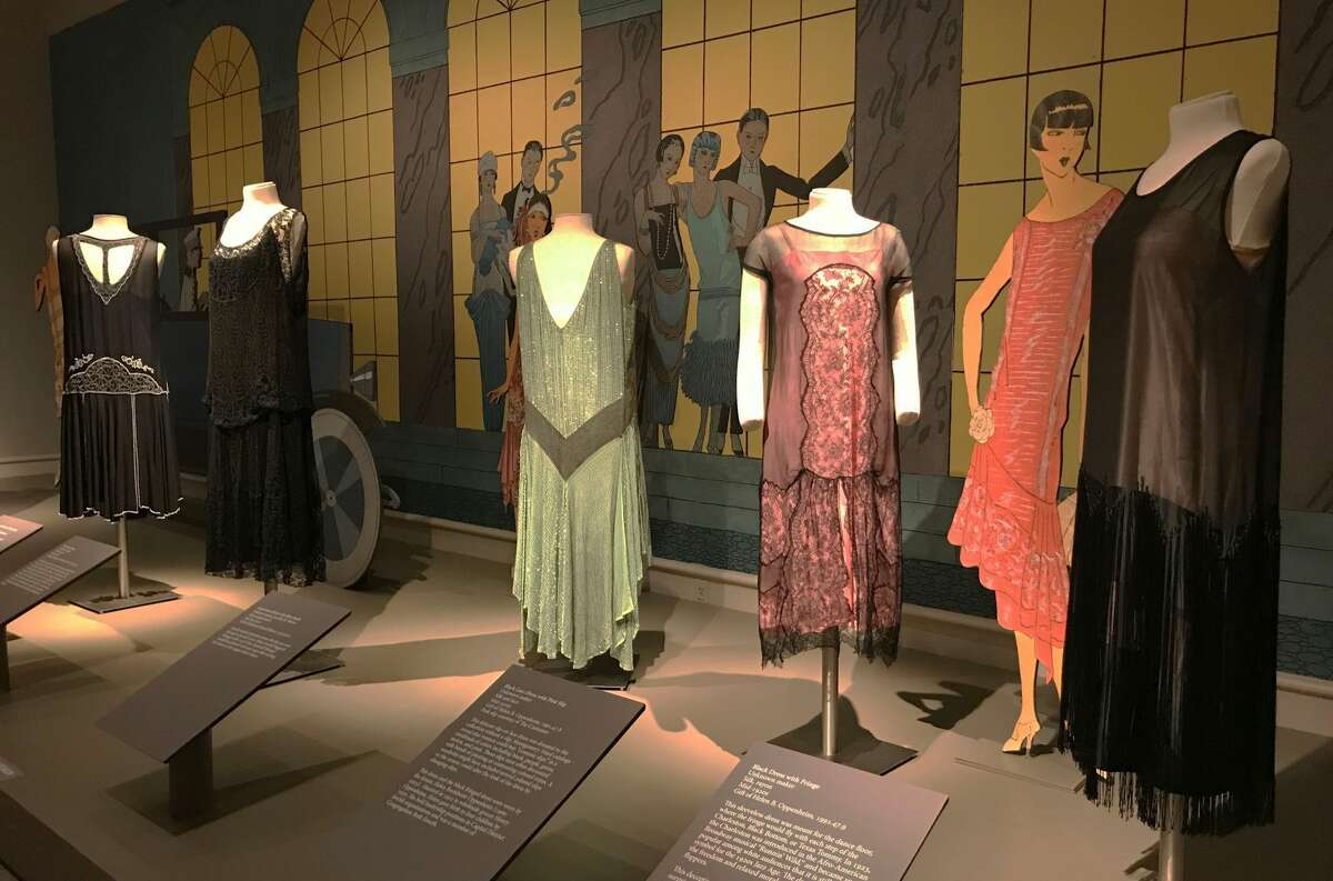 """Some of the two dozen dresses on display in """"Fashionable Frocks of the 1920s"""" at the Albany Institute of History & Art. (Courtesy: AIHA)"""