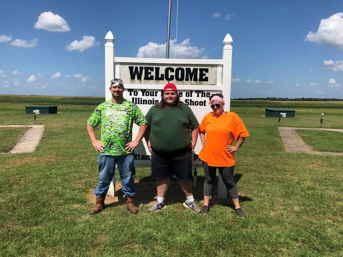 William Yurick earned 2nd place in the shotgun competition for his age group at the 2021 Fall Classic Shoot. Alongside William are shotgun and archery instructors Jeremy and Jessica Little.