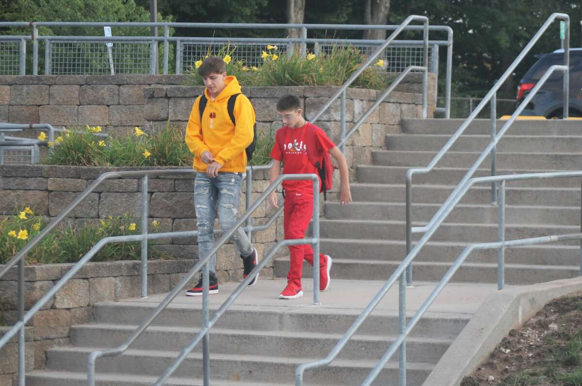 Onekama Consolidated Schools kicked off the 2021-22 school year on Tuesday morning.