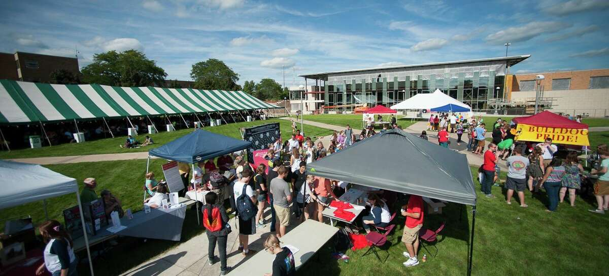 Founders' Day, an annual celebration of Ferris State University founders Woodbridge N. and Helen Gillespie Ferris, will take place Thursday, Sept. 2, on the university's Big Rapids campus. (Courtesy photo)
