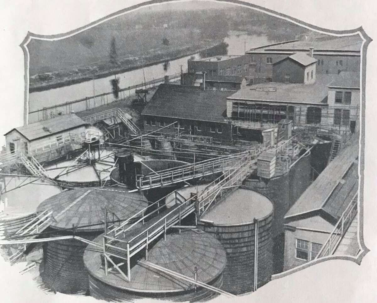 Section of the Dow plant