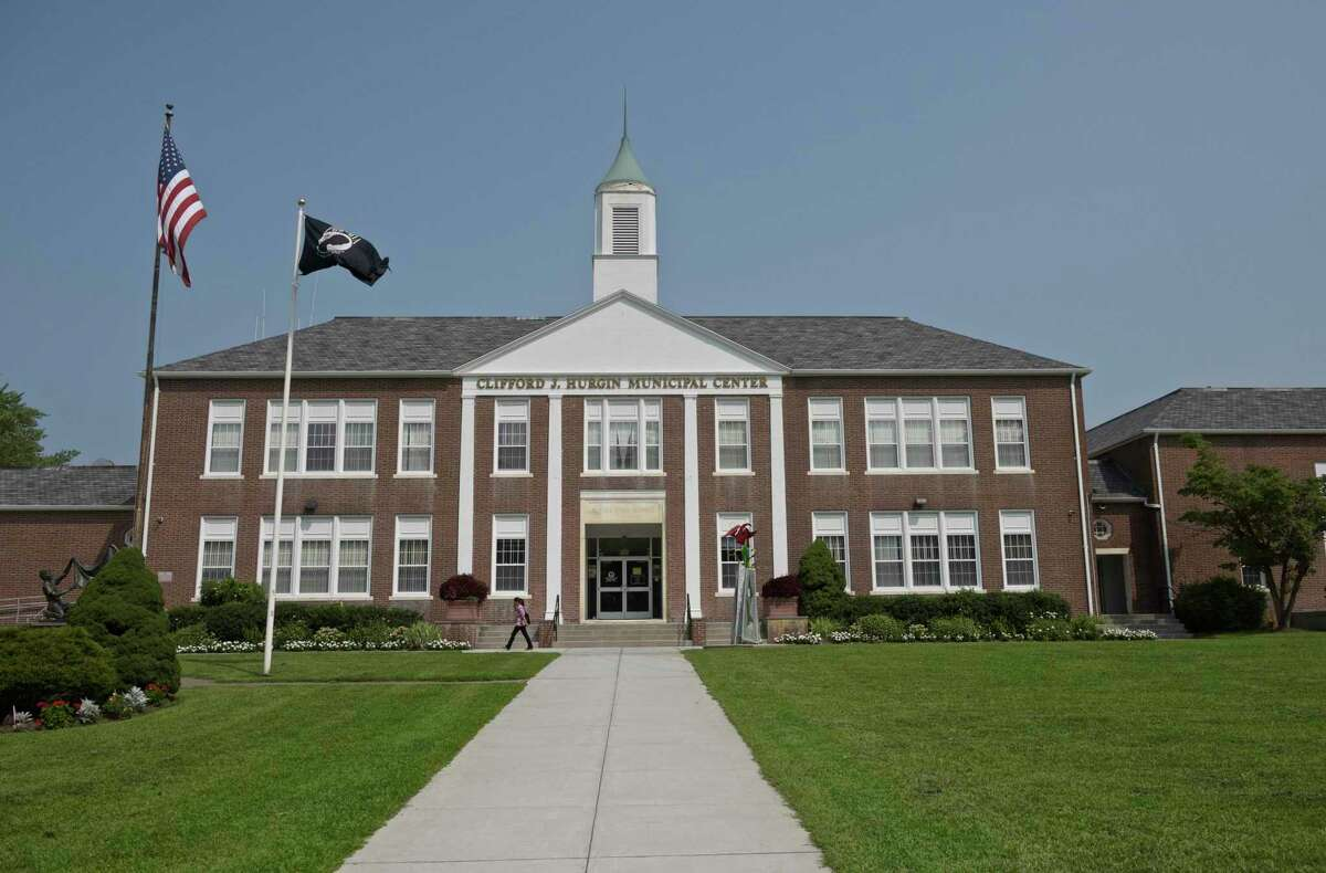 The Clifford J. Hurgin Municipal Center at 1 School St. in Bethel, Conn., where a free COVID-19 vaccine clinic is scheduled to take place Sept. 8, 2021, from 2:30 to 5:30 p.m.
