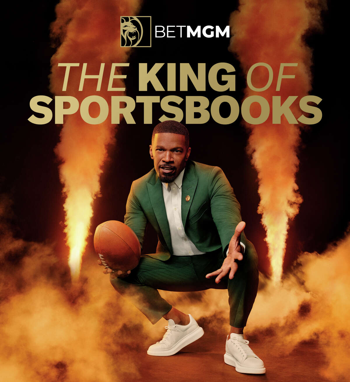 """BetMGM's """"Win Like a King"""" national ad campaign starring Jaime Foxx just marked its official debut."""