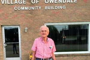 Walter Howard served on the Owendale Village Council for 45 years. He served four years on the village council before being elected as president in 1980. He served in that position for 41 years until his passing. (Courtesy Photo)