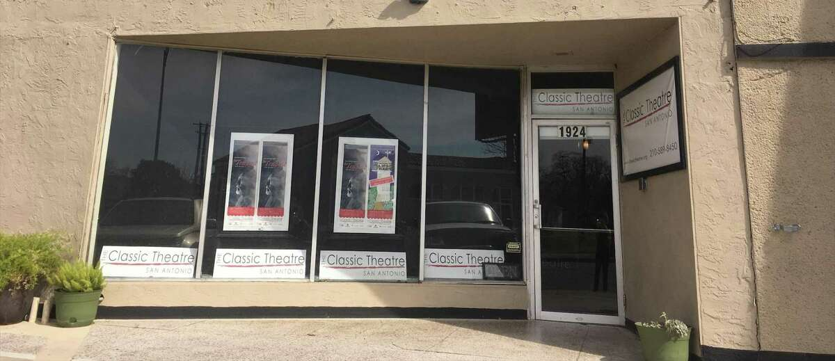 Until the pandemic, The Classic Theatre operated out of a storefront space on Fredericksburg Road.