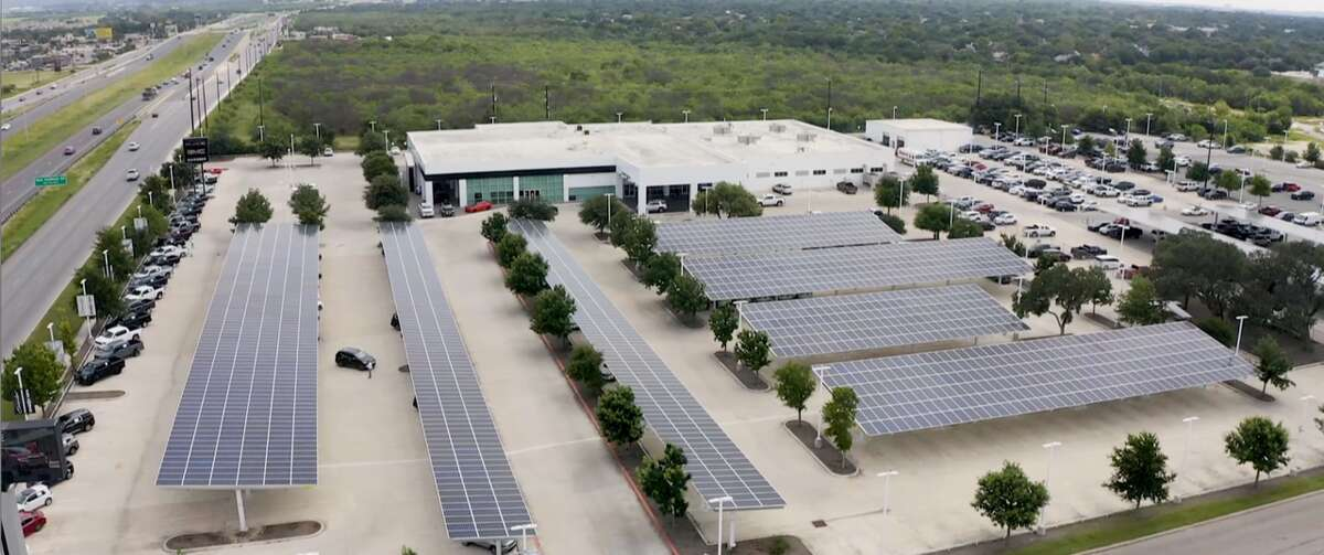 Cavender Auto Group is taking a big step forward in 2021, partnering with local company Big Sun Solar in order to become the first auto group in San Antonio to install solar carports.