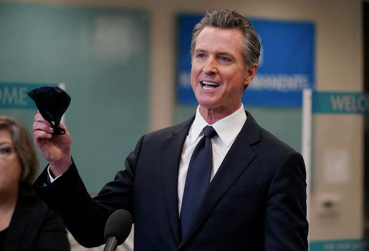 Gov. Gavin Newsom announced some positive pandemic news two weeks before an election on whether to recall him: 8 in 10 eligible Californians now have received at least one COVID-19 vaccine dose.