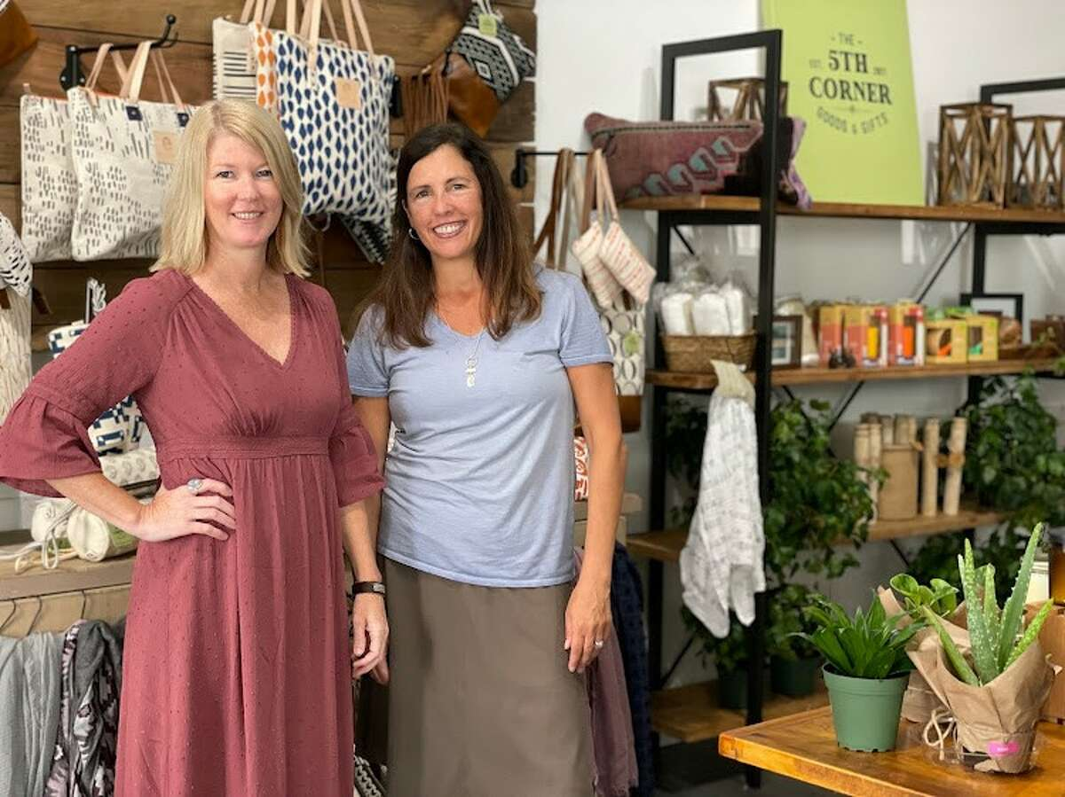 Ricky Talmage and Danielle Obernesser are opening The Fifth Corner Goods and Gifts at 395 Kenwood Avenue in Delmar on Sept. 9, 2021.