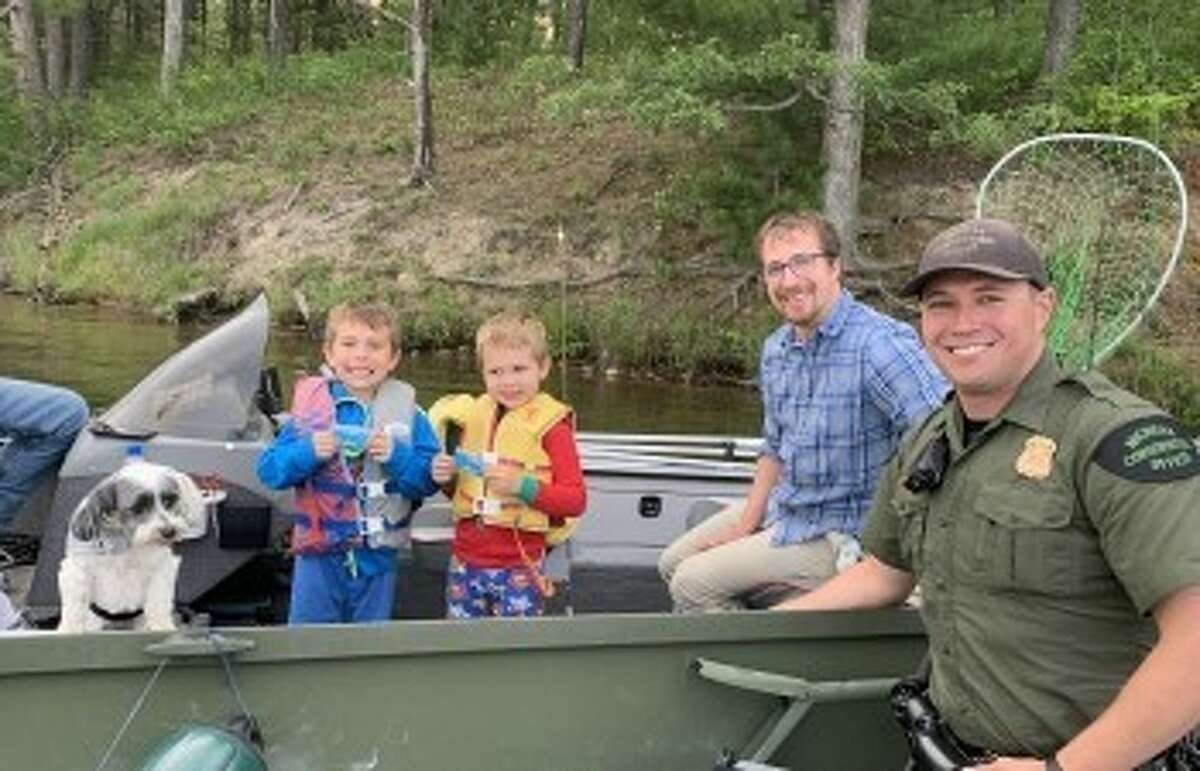 This is the last weekend conservation officers will pass out free McDonald's ice cream and apple slice coupons to youth boaters spotted wearing their life jacket.