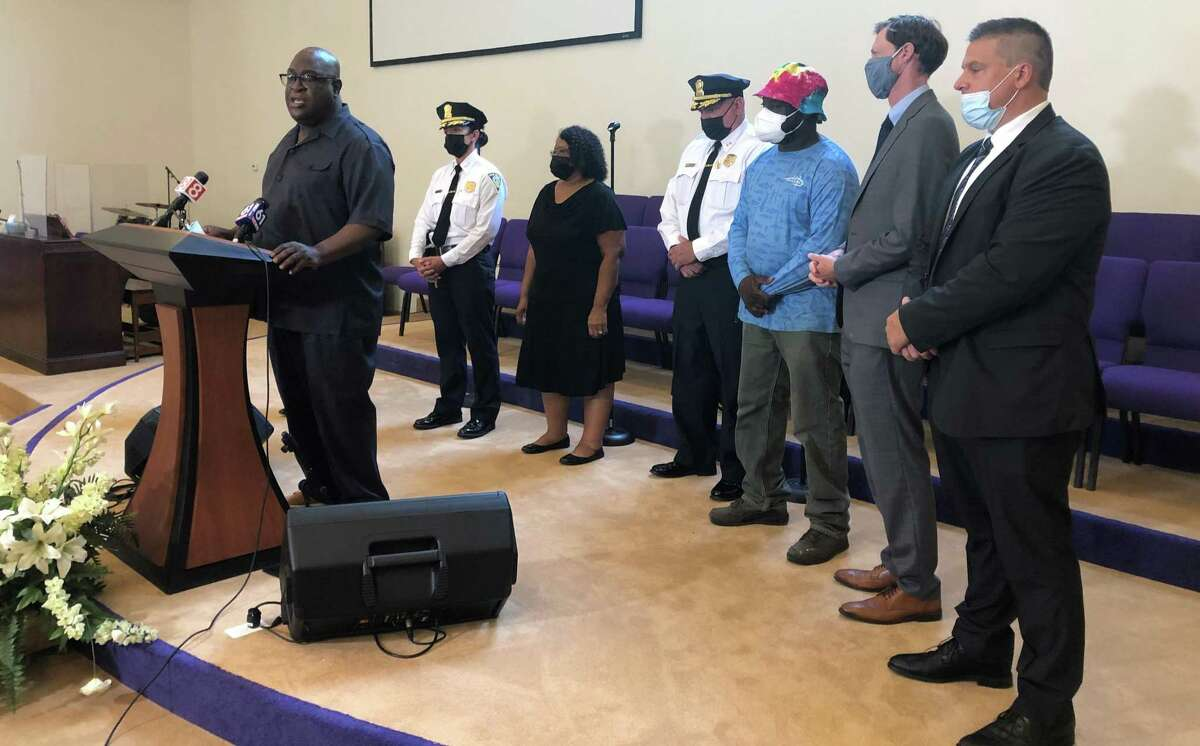 Clergy and New Haven officials joined Tuesday to call on residents to step forward with information about potential crimes and help safeguard their neighbors.