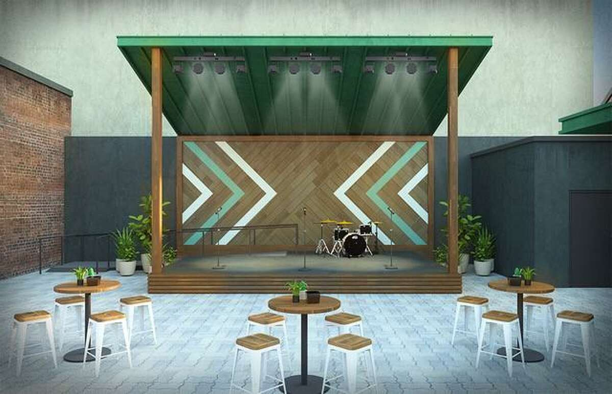 The event venue 202 Main will be opening an outdoor courtyard behind the current venue in downtown Conroe in October.