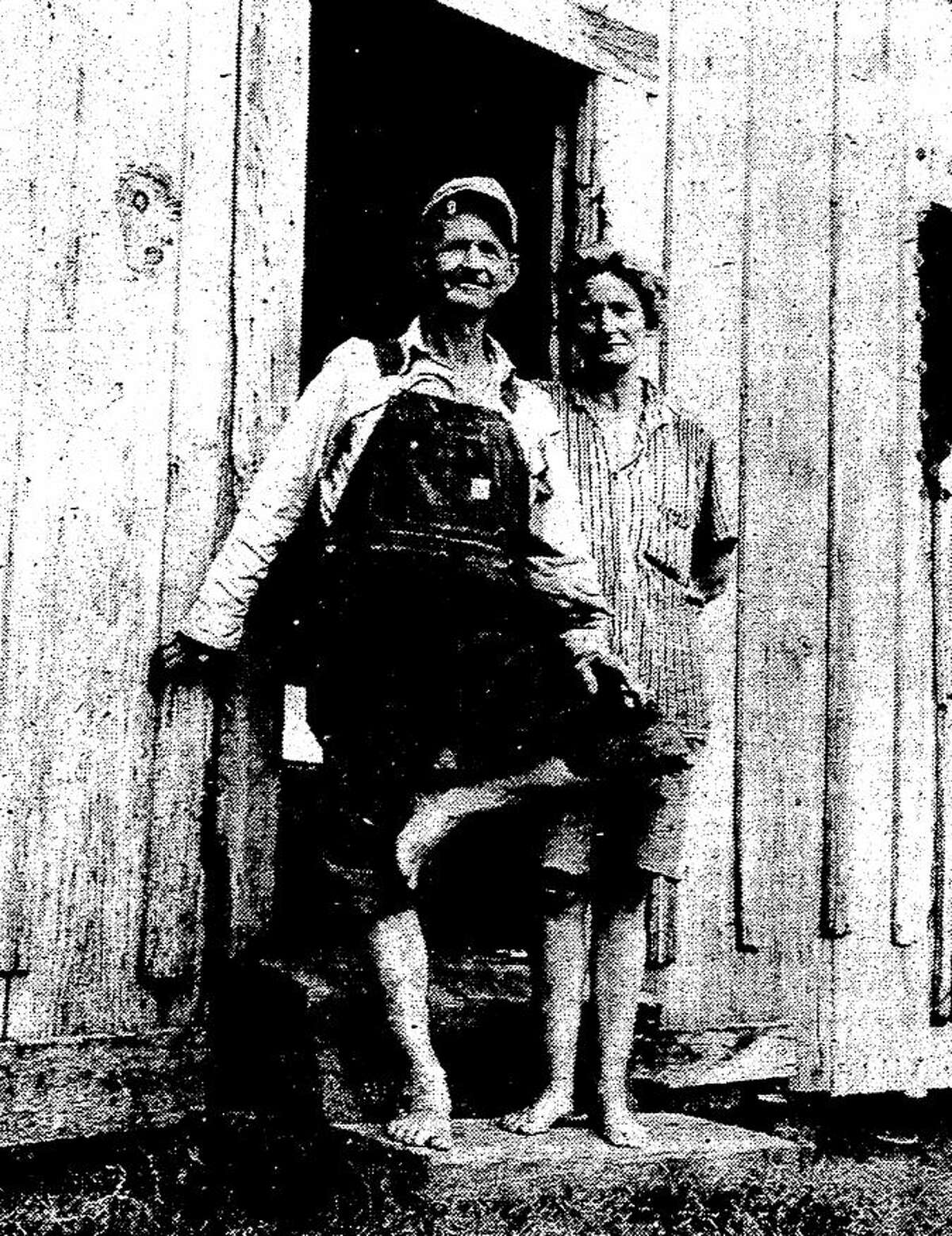 Doc and Lizzie Eason.