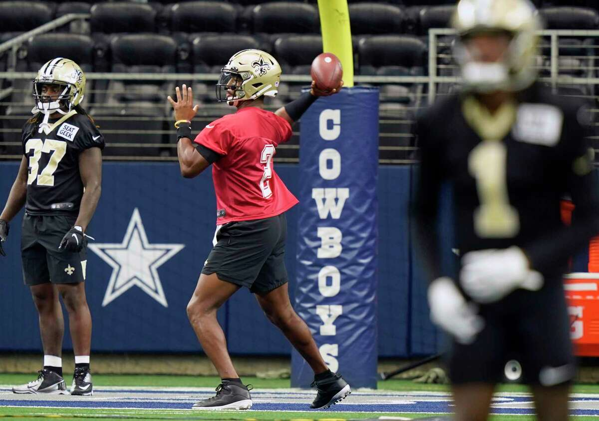 Once again, the Saints and QB Jameis Winston are uprooting themselves from New Orleans due to a hurricane and will call AT&T Stadium in Arlington home for now.
