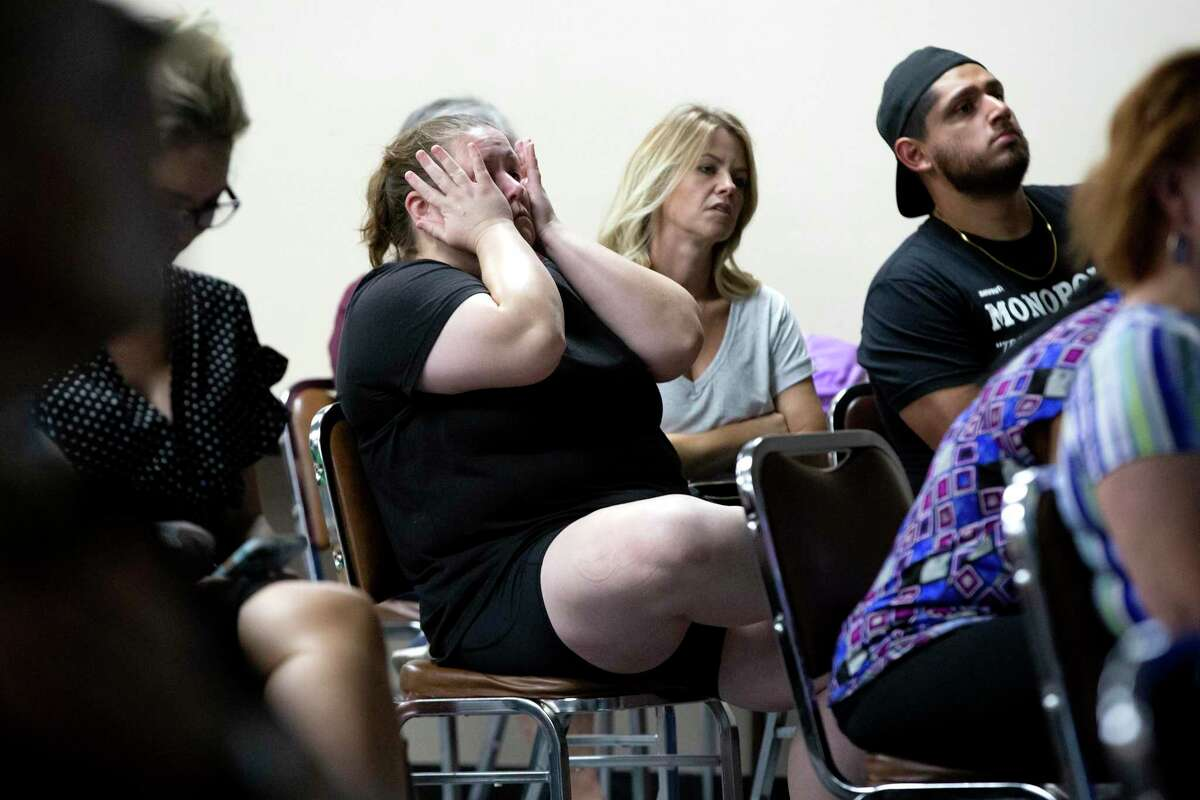 Parents became restless as NEISD school board members discussed mask mandates in schools for almost two hours during an emergency school board meeting Aug. 19, 2021.