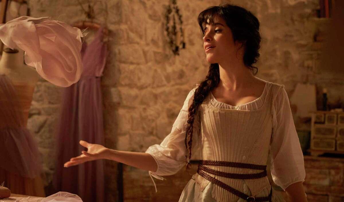 Cinderella (Camilla Cabello) is an aspiring dress designer in the new Amazon Prime musical.