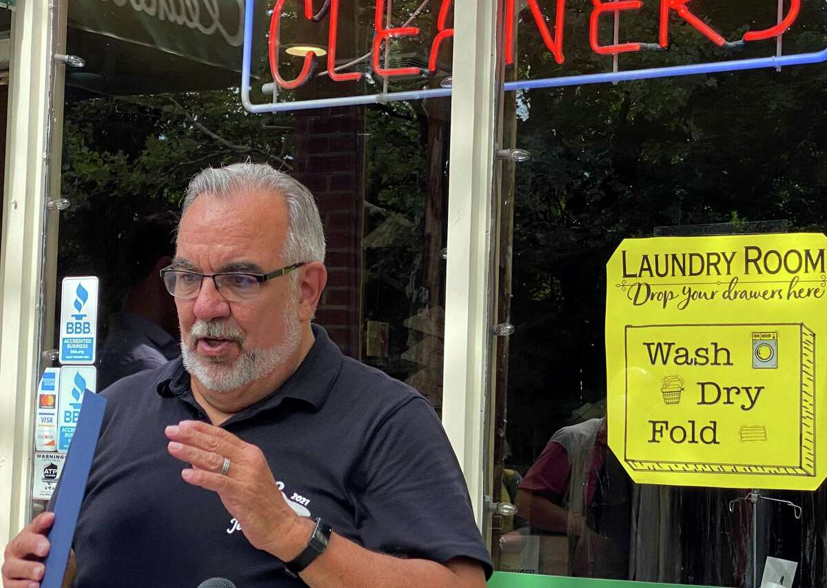 Mike Amore Jr., owner of Jet Cleaners, explains how they have survived the COVID-19 lockdown by re-inventing themselves.