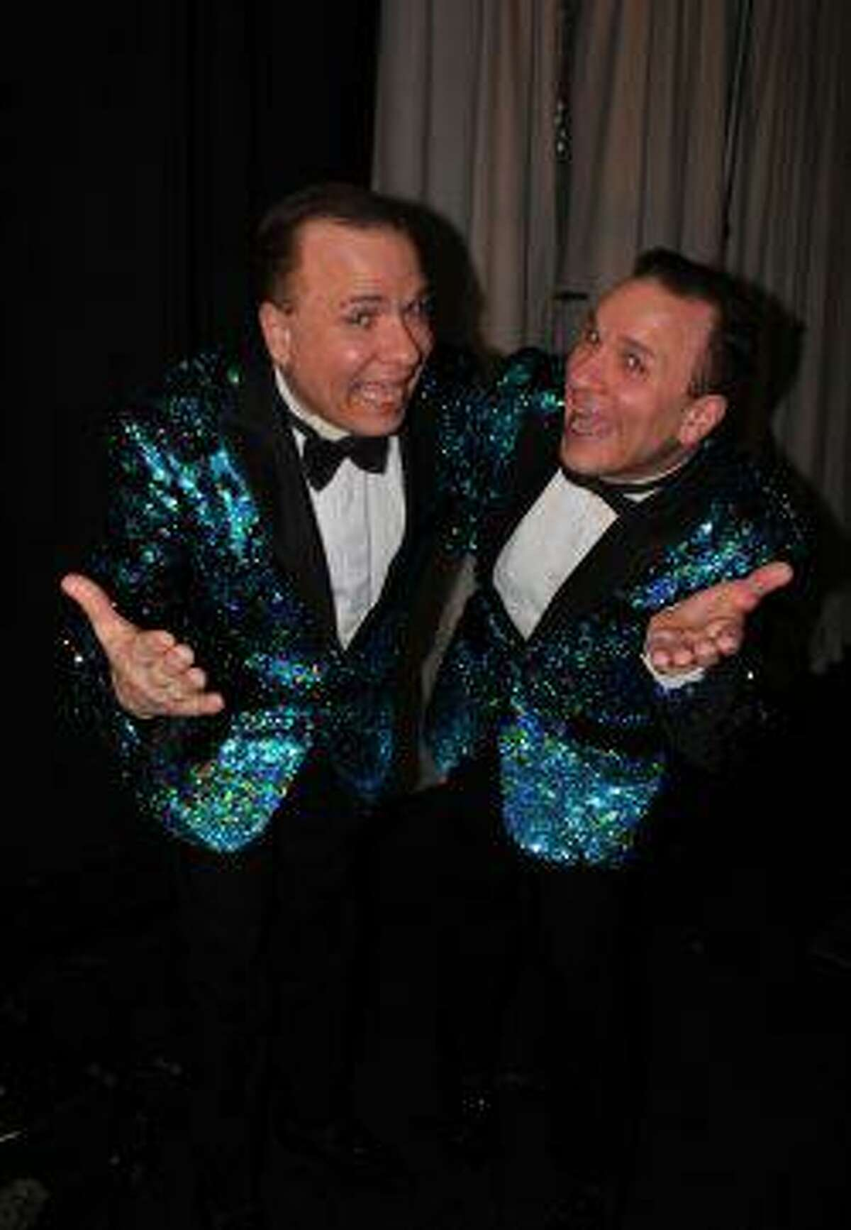 The Edwards Twins perform Sept. 11-12 at Seven Angels Theatre in Waterbury.