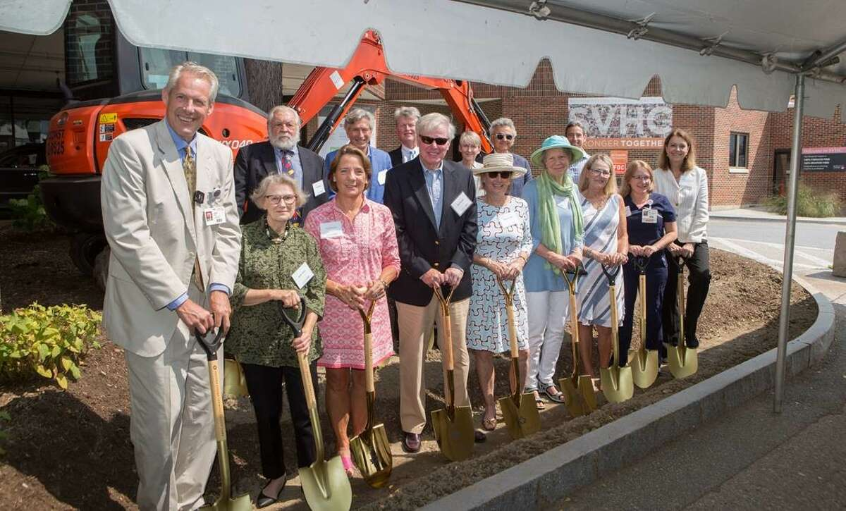 Southwestern Vermont Health Care breaks ground on its Emergency Department project on Aug. 27, 2021.