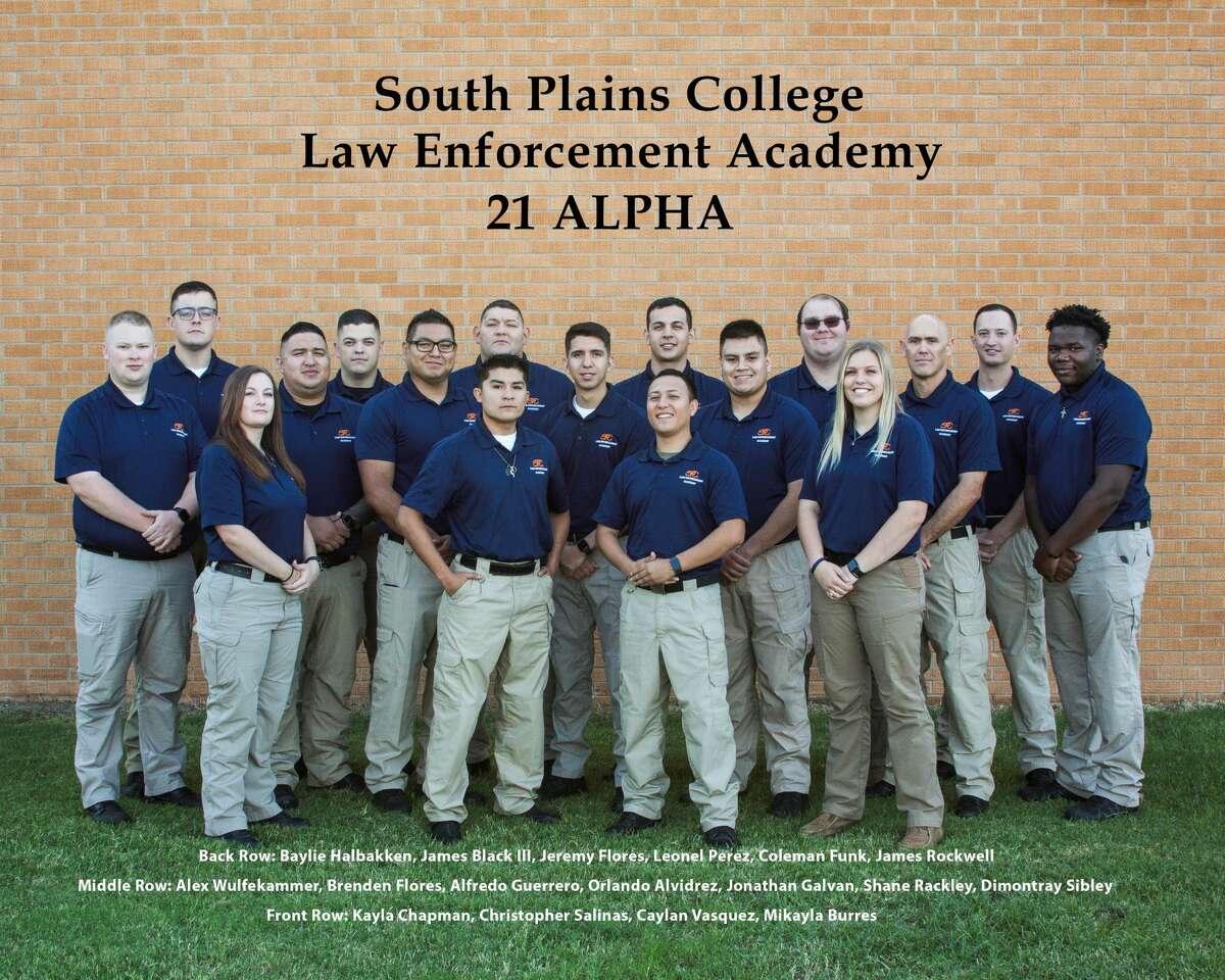 SPC Law Enforcement graduates 2021